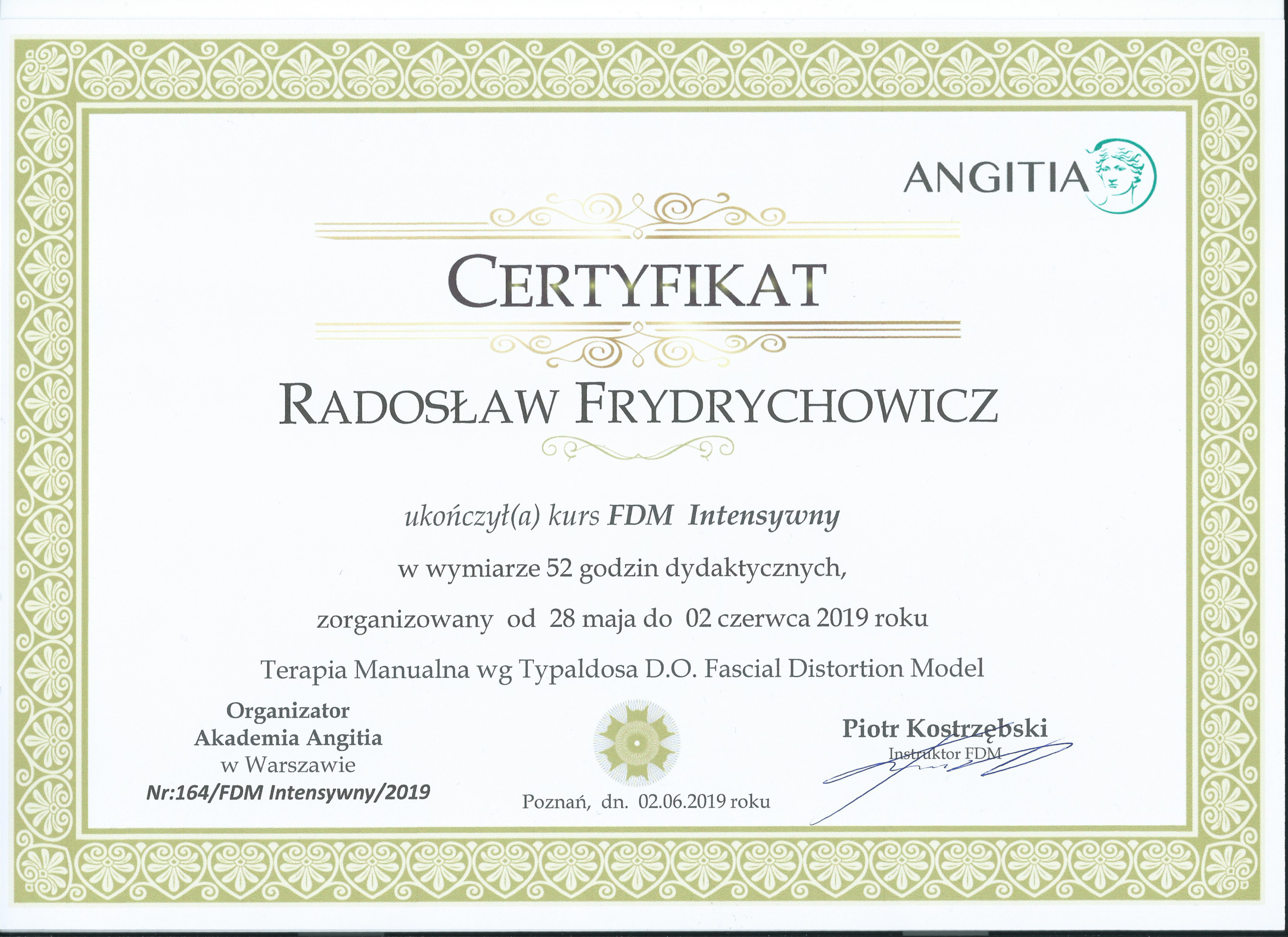 FDM-certyfikat